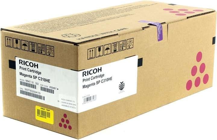 Принт-картридж Magenta type SPC310HE 6к - 1